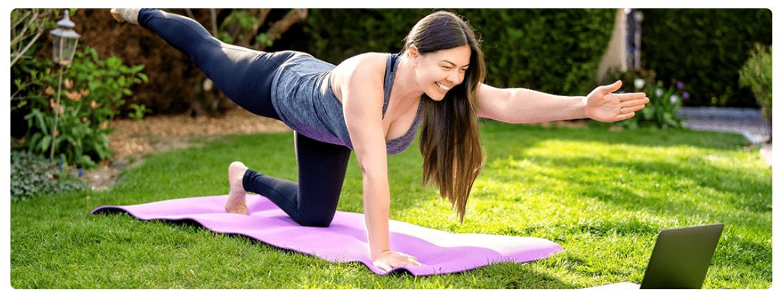 Bibehåll en hälsosam livsstil även när du jobbar hemma