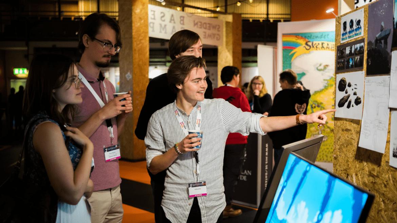 Microsoft och Nintendo deltog på Sweden Game Pitch