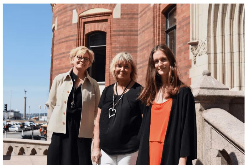 Succé för Hack the Crisis-laget BrightAct – Appen för våldsutsatta blir pilot i Helsingborg