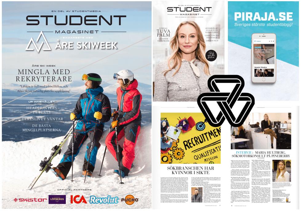 Åre Skiweek satsar mer på karriär och tar in Studentmedia som mediapartner