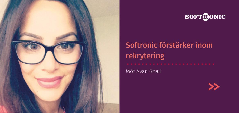 Softronic förstärker inom rekrytering med Avan Shali