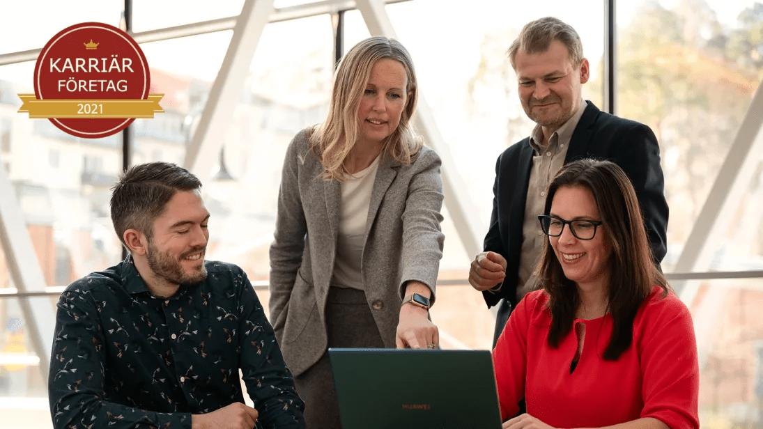 Huawei utsett till ett av Sveriges Karriärföretag 2021