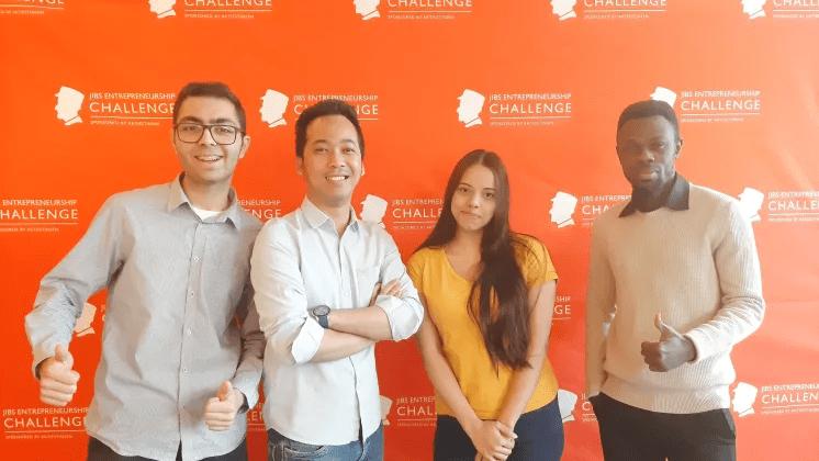 Studenter vinner för bästa idén om socialt entreprenörskap