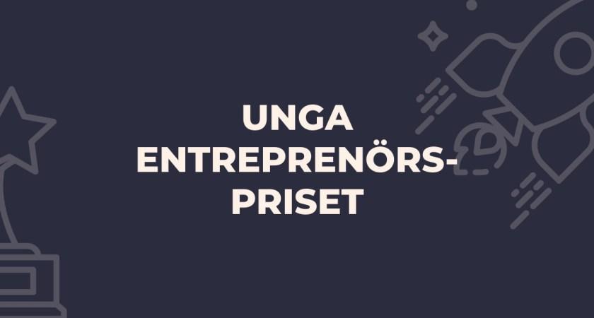 "David Gauffin Dahlin, Stockholm, vinnare i ""Unga entreprenörspriset"" 2021"