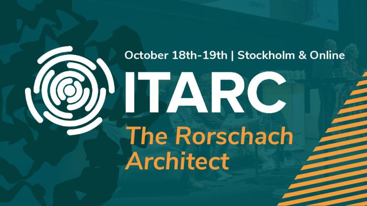 Biljetterna till ITARC 2021 är släppta