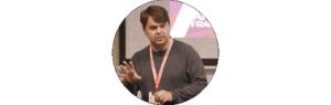 Barry O'Reilly är programansvarig och moderator under konferensen.