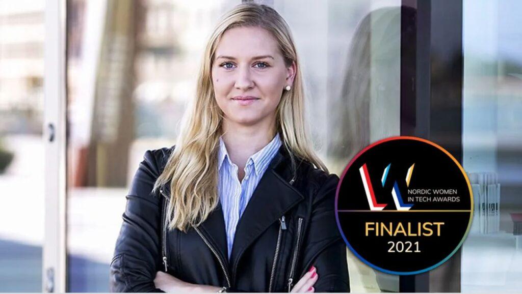 Cecilia Videcél, CEO av Kura finalist i Nordic Women in Tech Awards!